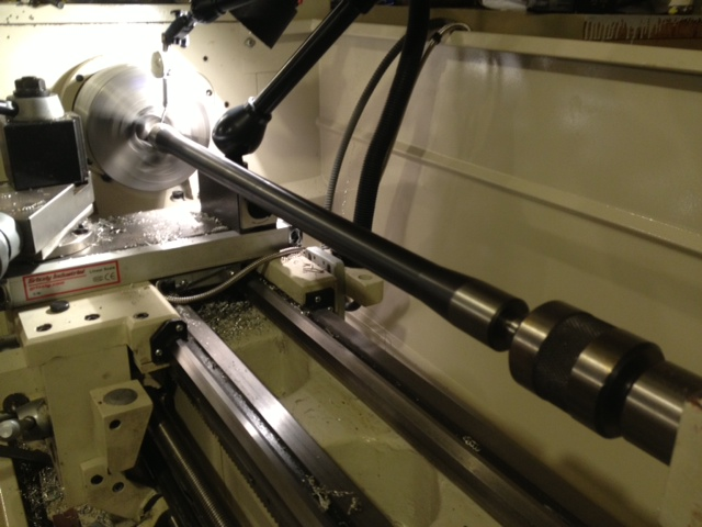 Lathe Centering Bar Ensures Centers Are Aligned