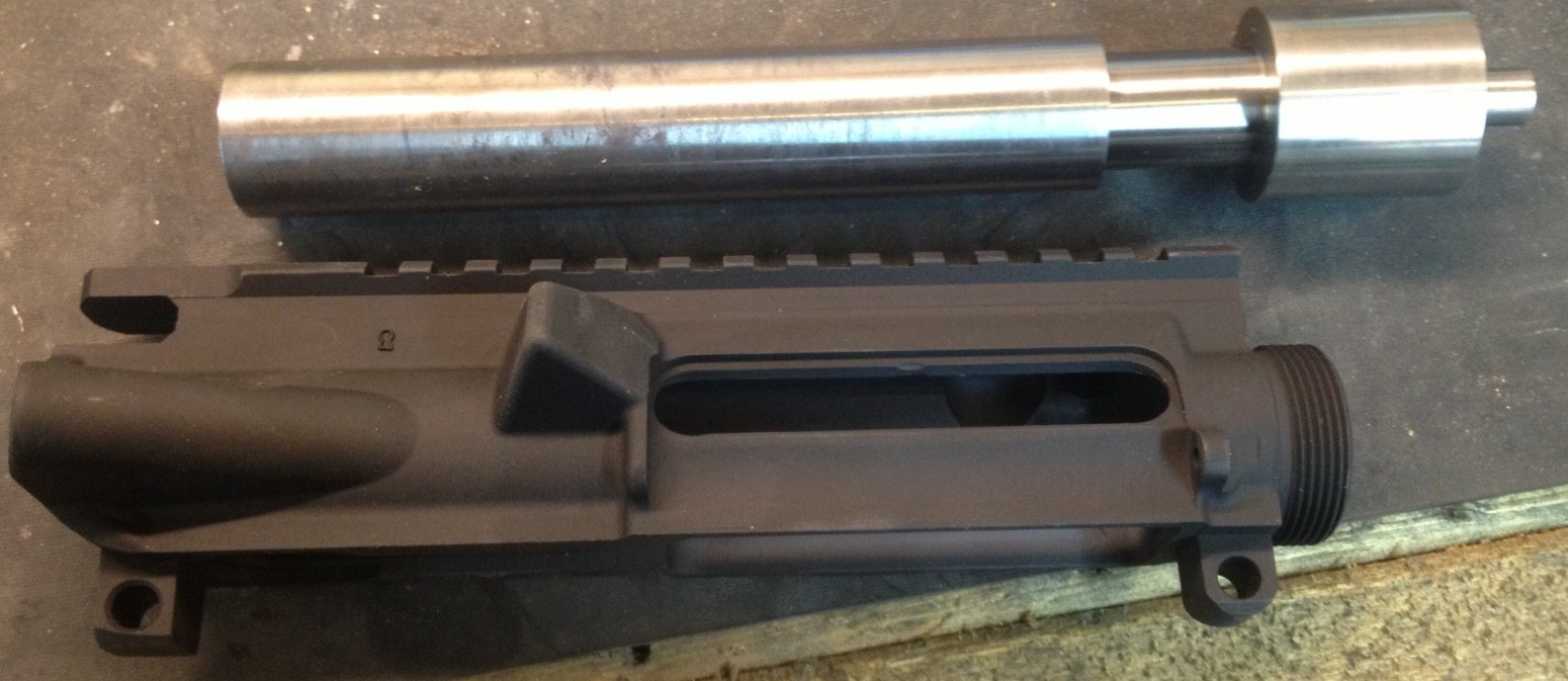 Lapping an AR15 Upper Receiver