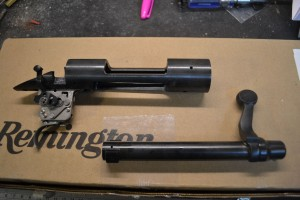 New Remington 700 short action with a .308 bolt face.