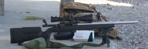 "A blueprinted Remington 700 with a 20"" Shilen #6 barrel chambered in 308 Winchester in a McMillian A3 stock."