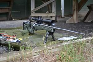 "The 28"" heavy barrel makes this gun kick like a 22!"