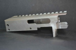Here is our completed RAZOR.  Once the parts are test fit, we will finish in Cerakote and assemble into a complete rifle.