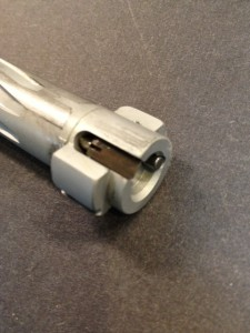 The BHI action uses a Sako extrator with a plunger ejector.