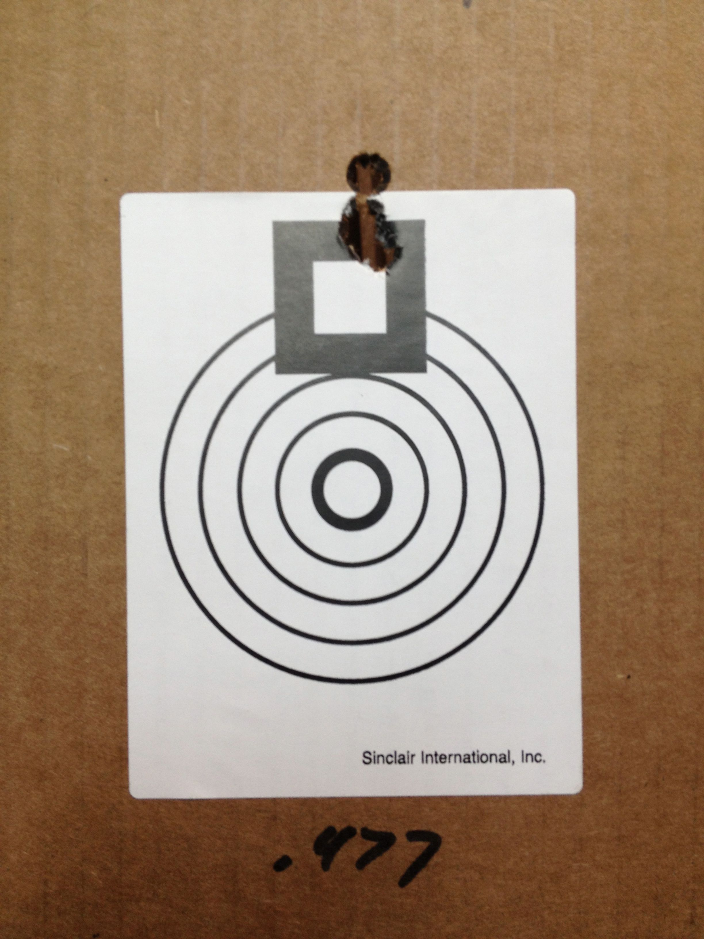 Benchrest targets on a roll, throw them in a bag and don't be stuck without precision rifle targets again!
