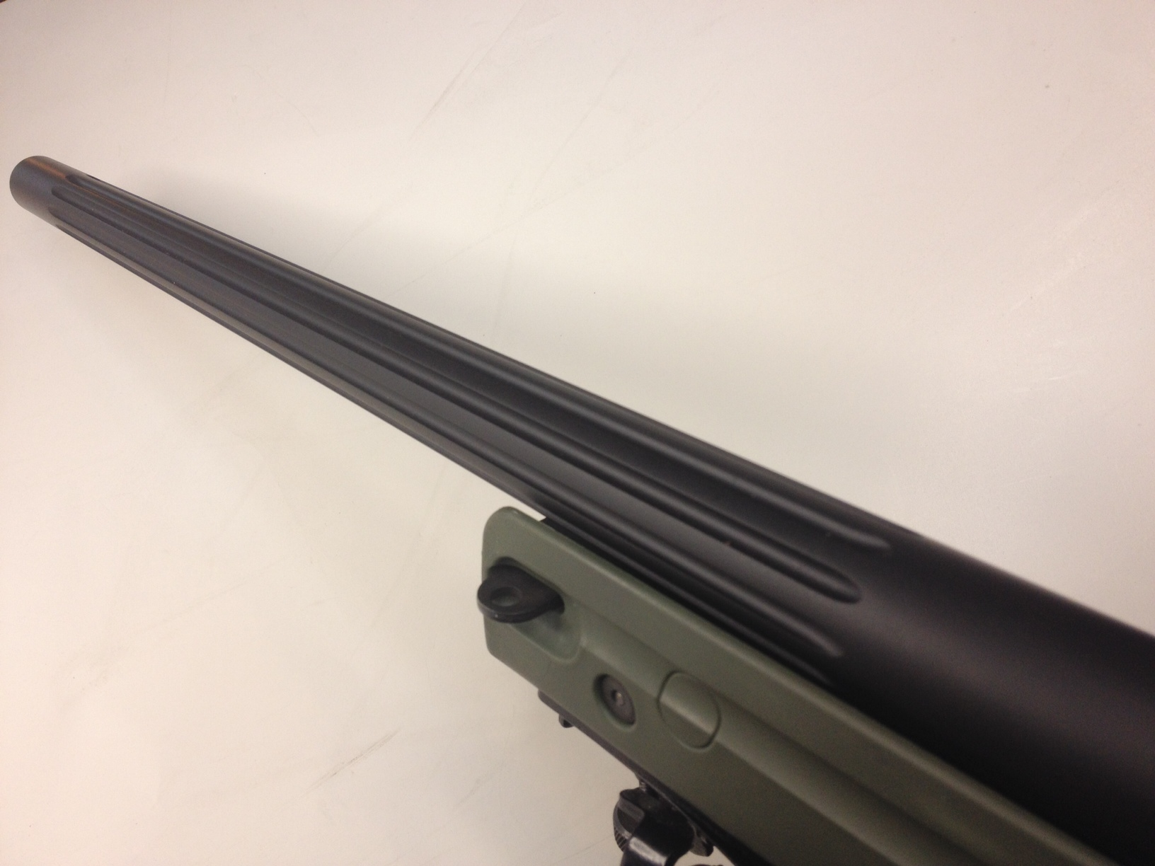 How to flute a rifle barrel