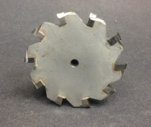The PTG cutter has 10 thick carbide teeth.