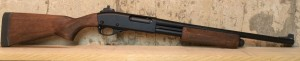 Right side of our rebuilt 20-gauge Remington 870.