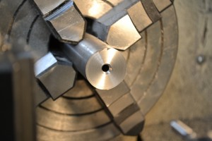Here is the counterbore.