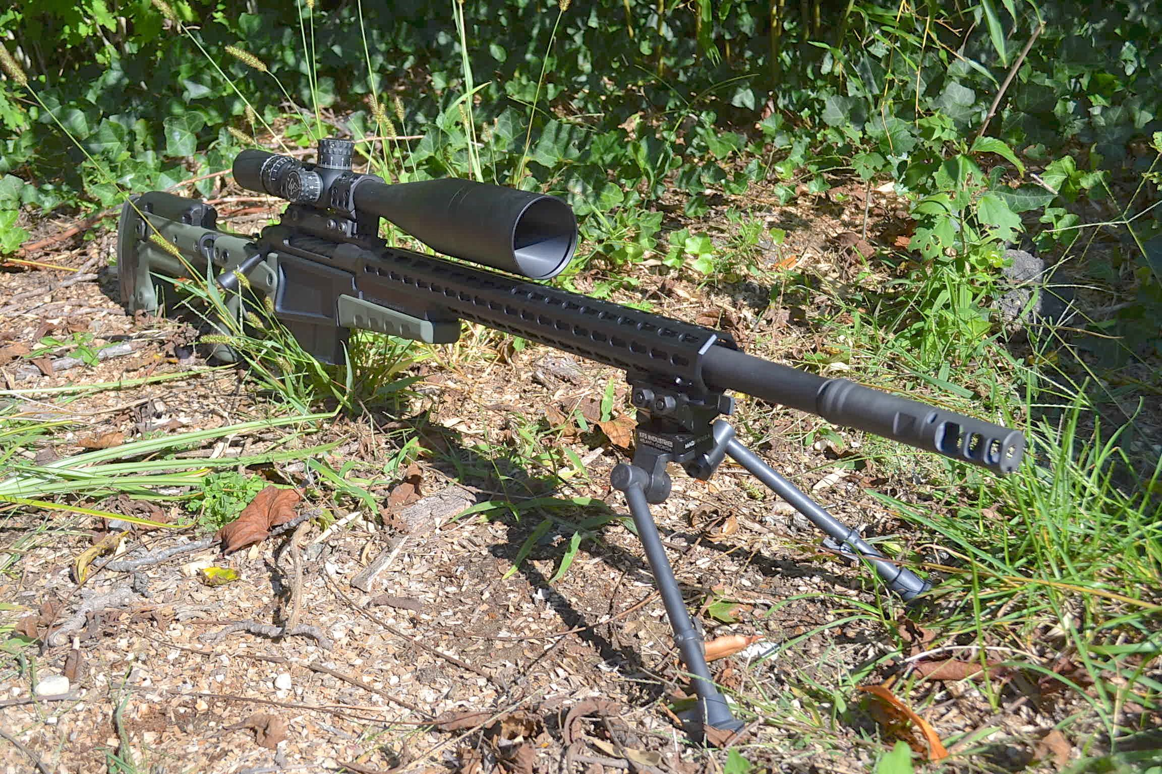 Custom 338 Lapua Magnum Precision Rifle Build