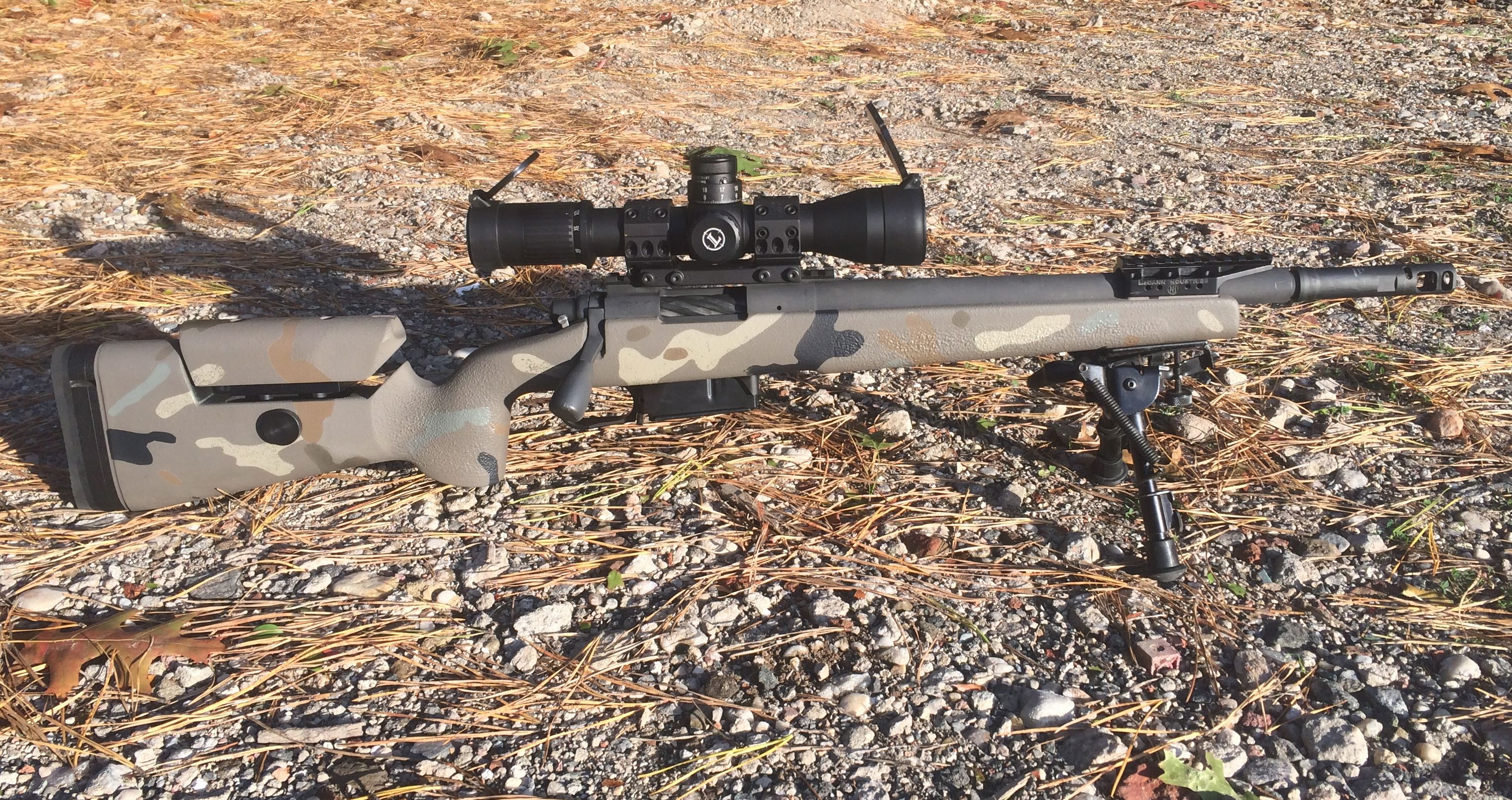 16.5 Inch 308 Winchester Precision Rifle: Summary of a Short Rifle