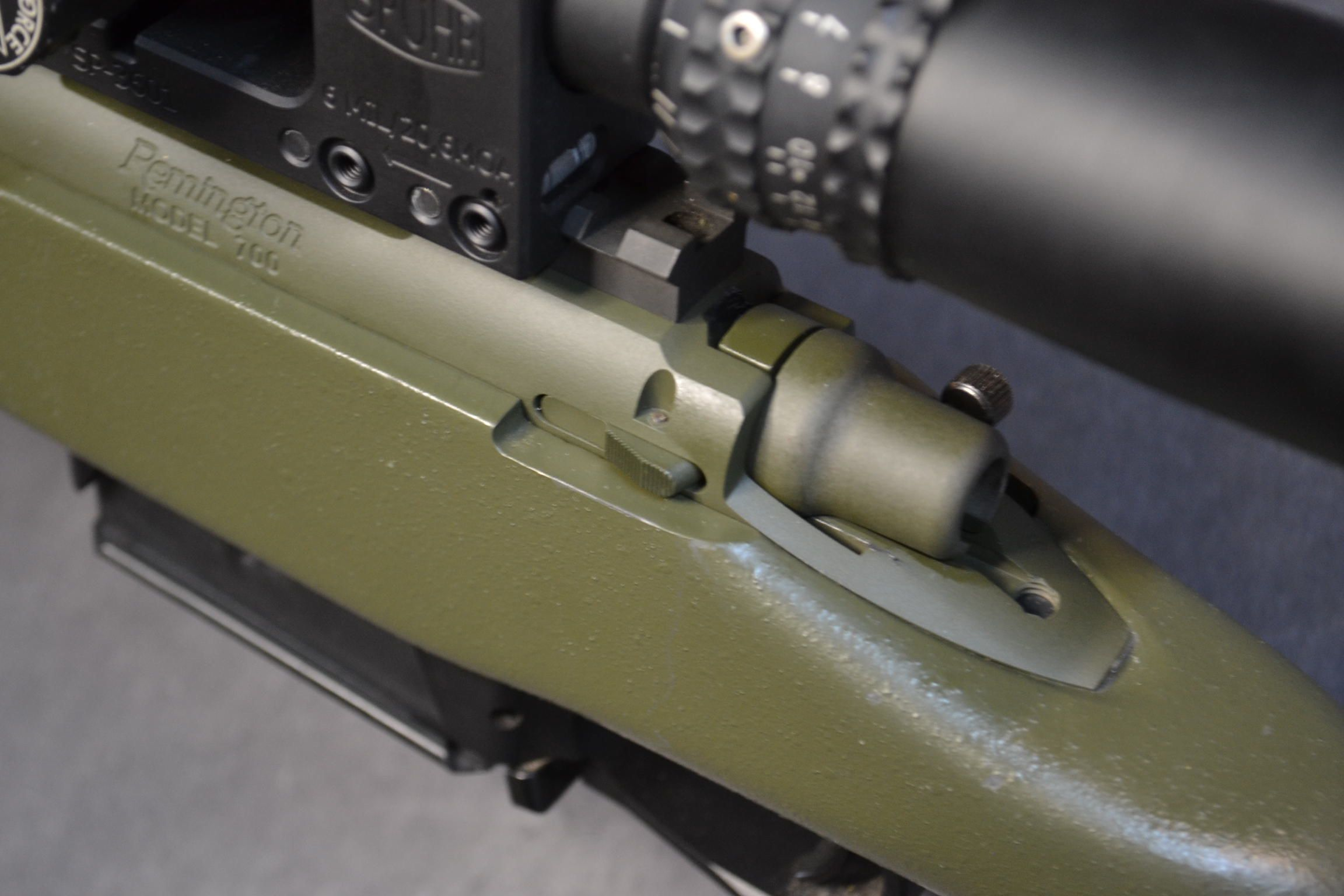 Installing an External Bolt Stop/Release on a Remington 700
