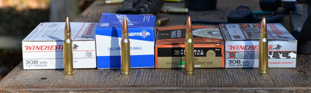308 ammo selection