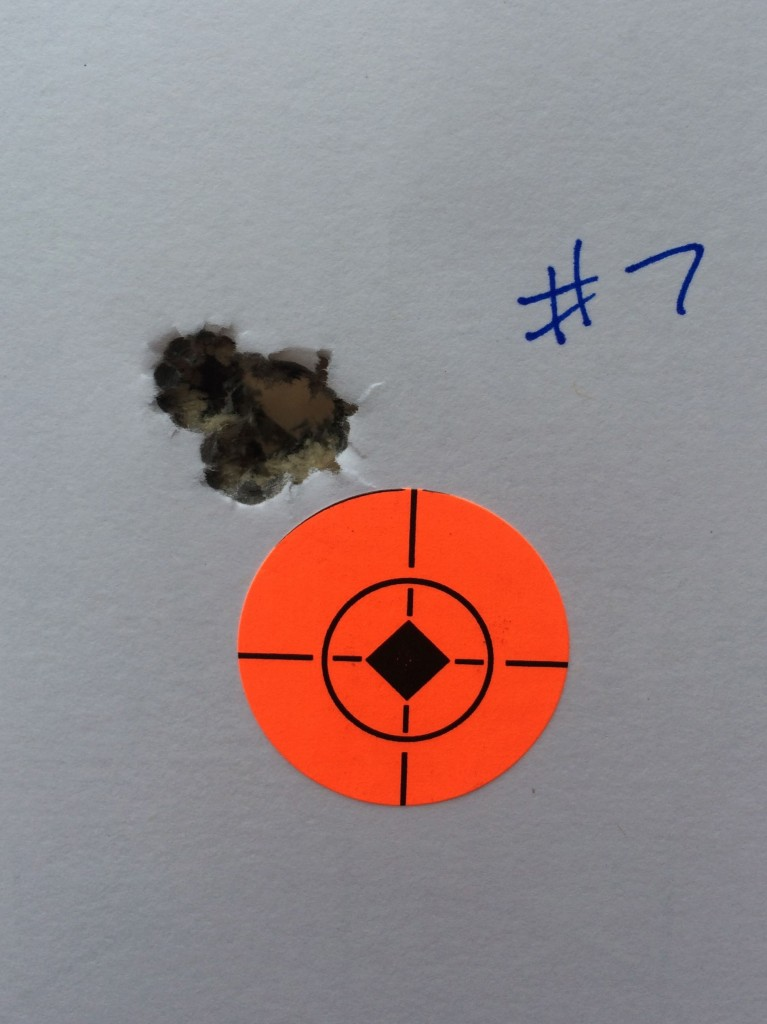 308 winchester 175 SMK varget .280 at 100 yards
