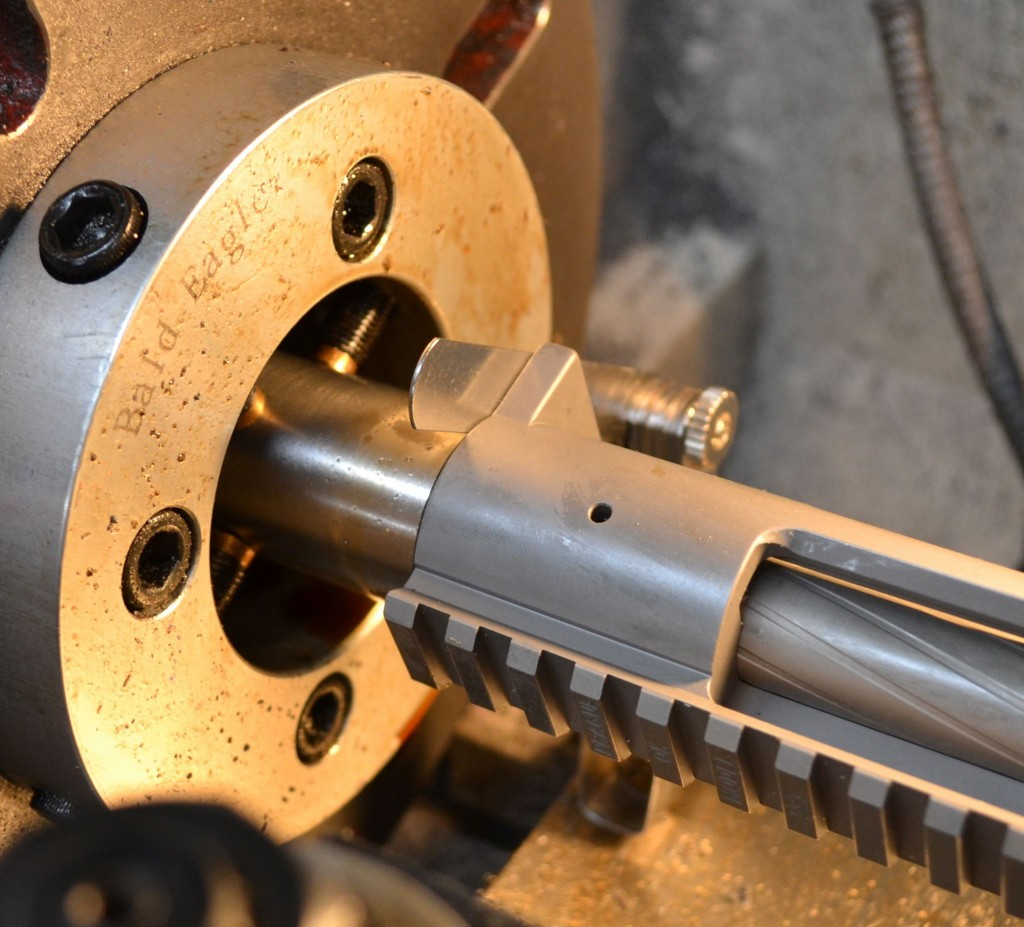 16a measuring headpsace with feeler guage and action