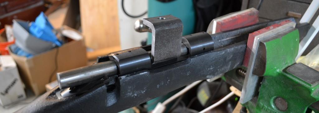 c holder in shaft