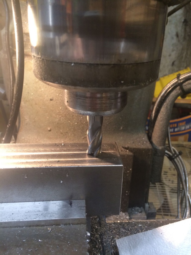 counter bore holes