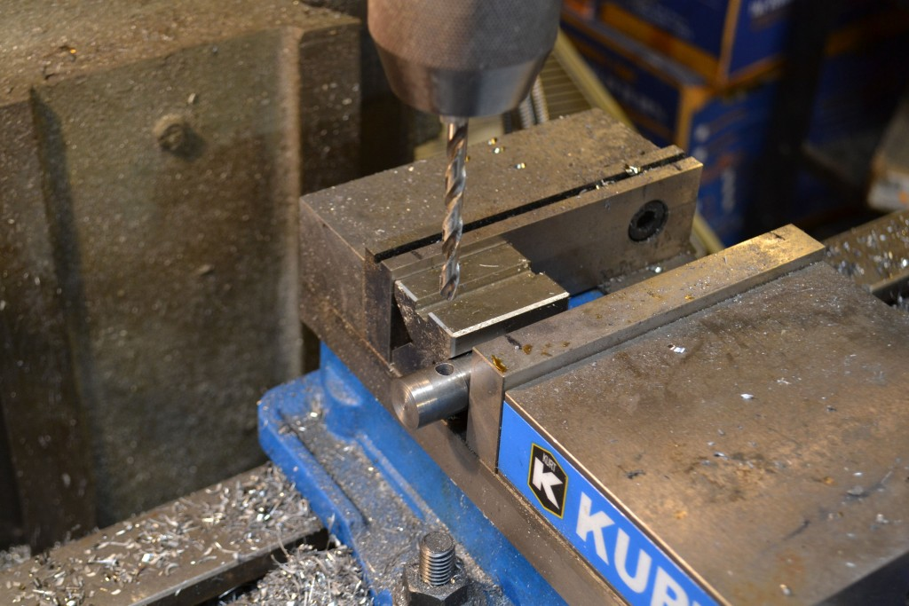 drilling handle hole
