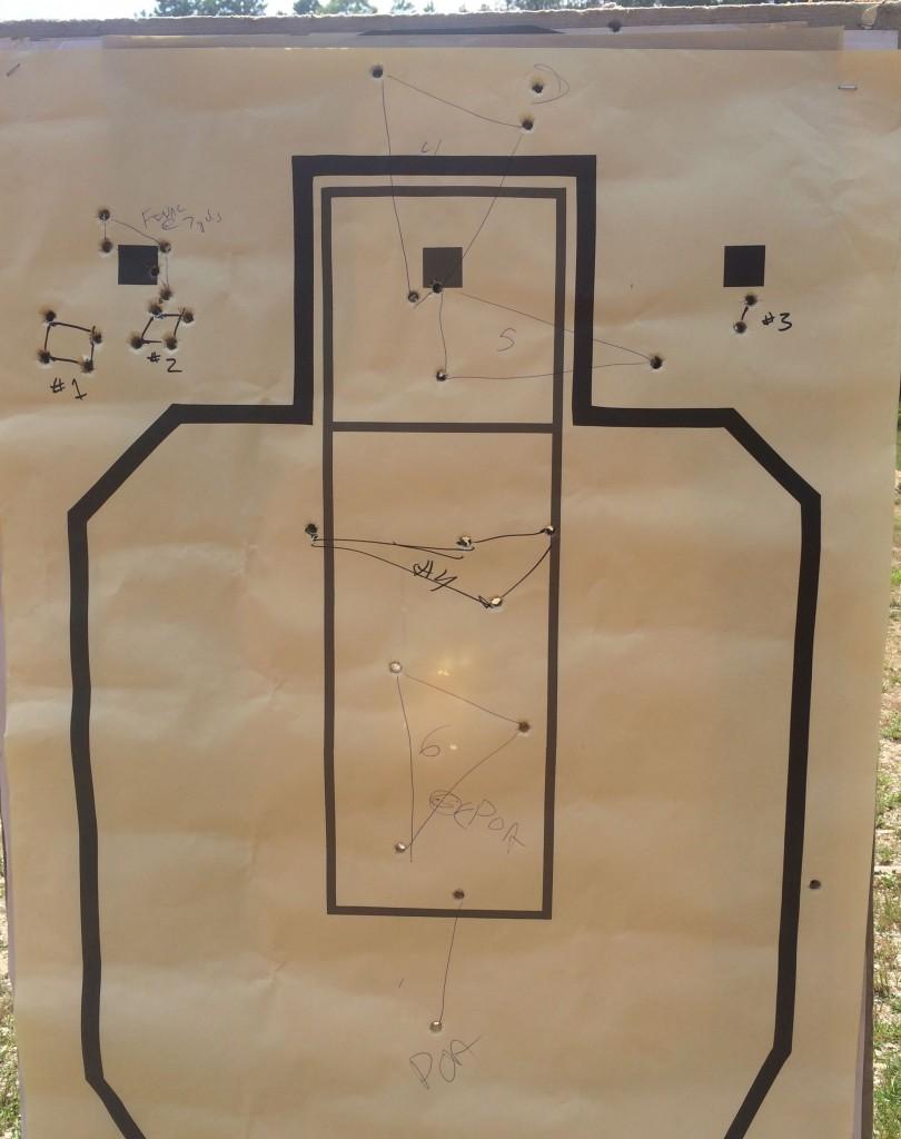 glock 22 rmr zero target