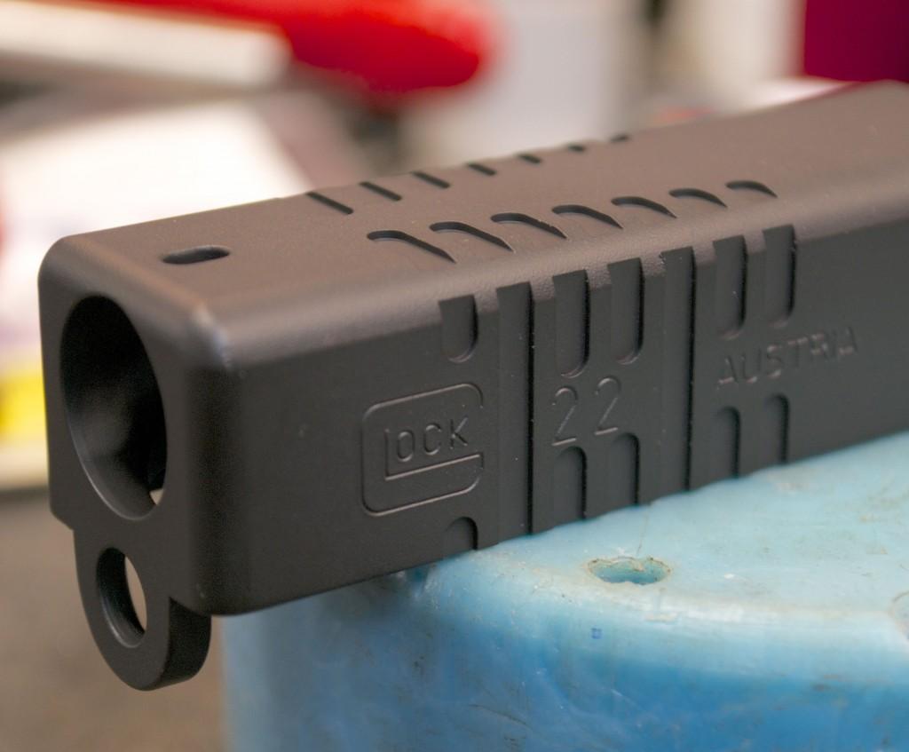 glock slide front cocking serrations milled