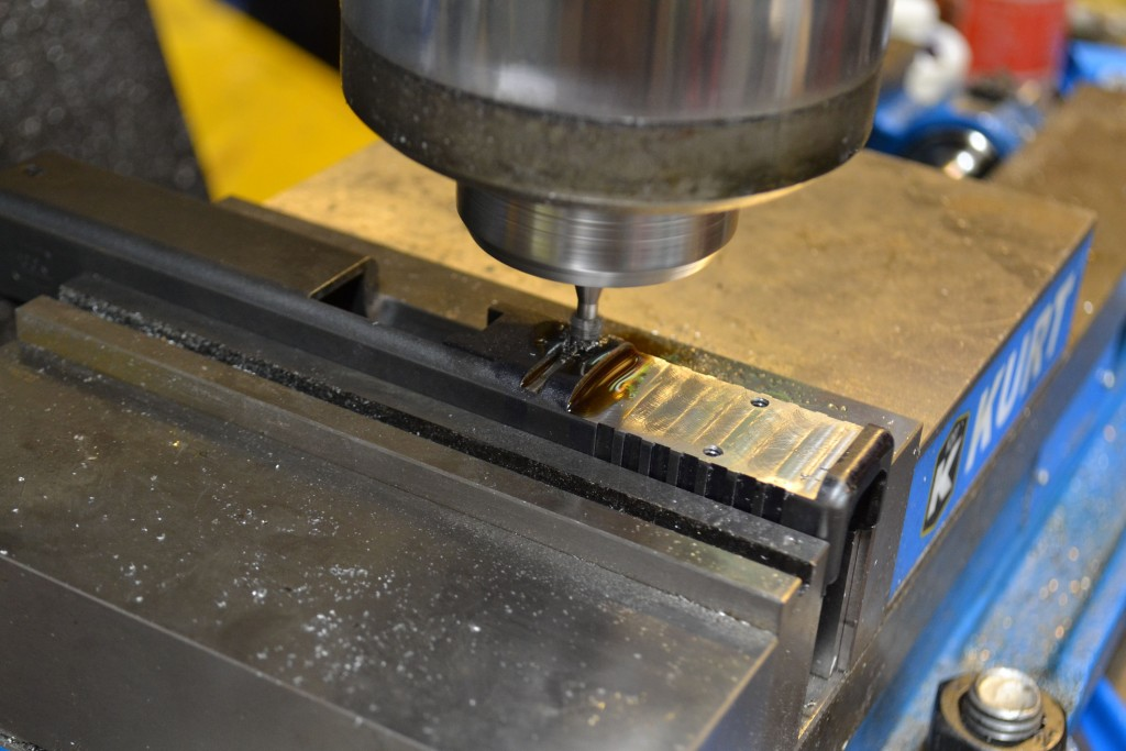 making the dovetail cut