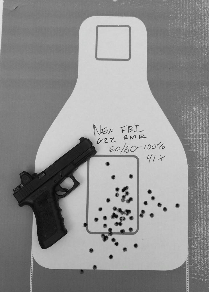new fbi qual glock 22 rmr 100 percent 41 x