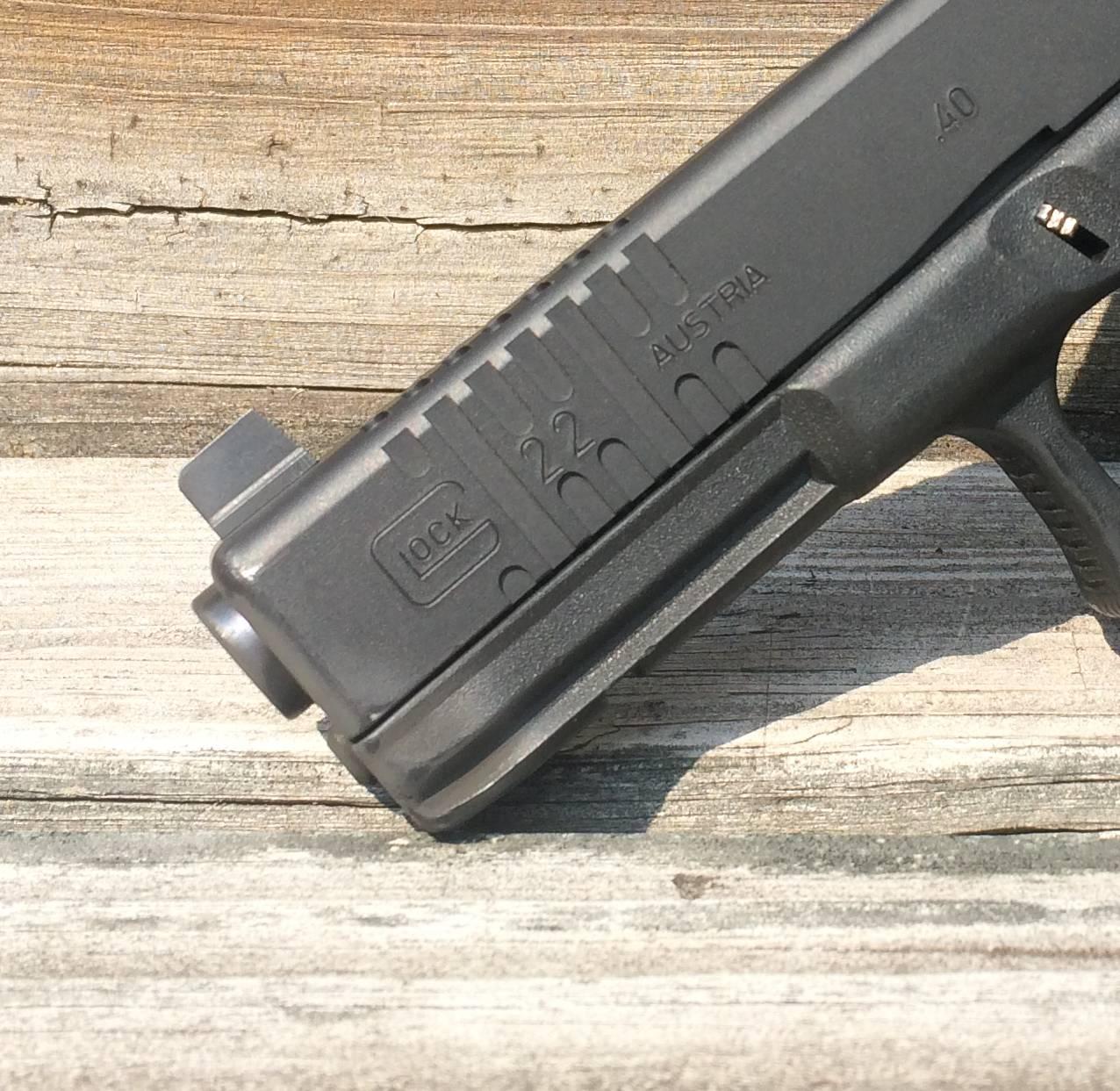 Esstisch Front Slide ~ Machining front cocking serrations on a Glock slide – rifleshootercom