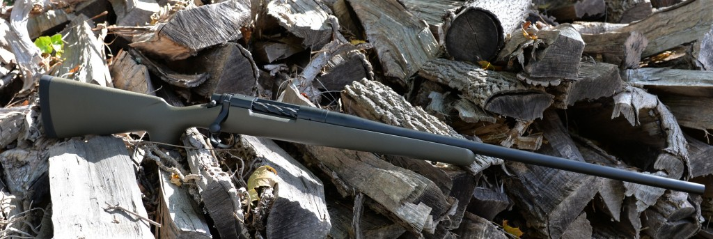 custom 700 hunting rifle right side entire rifle