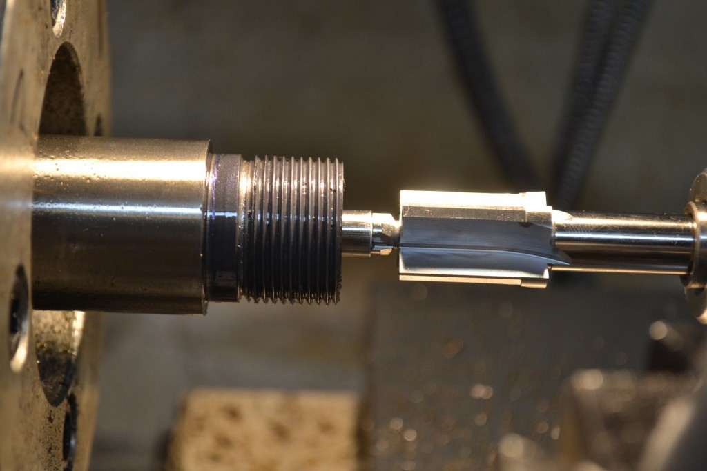 cutting counter bore on rem 700