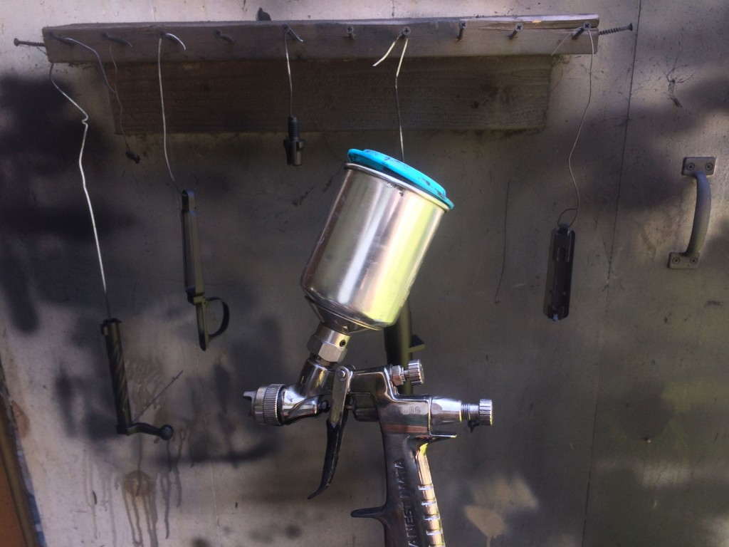 mini HVLP spray gun