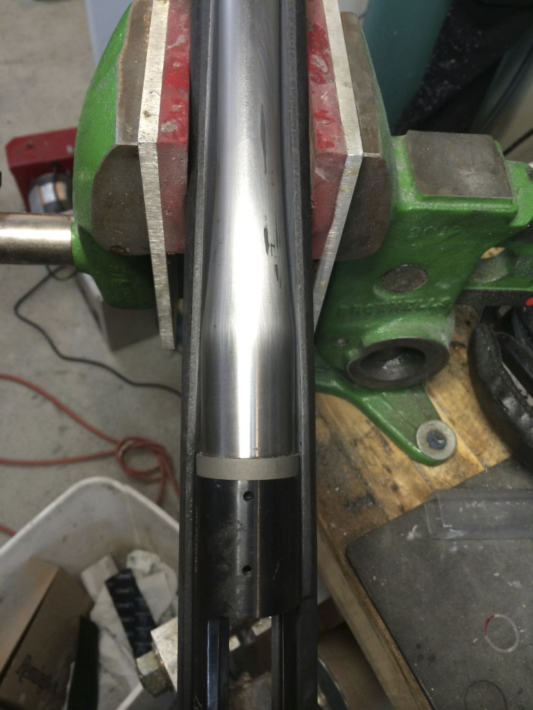 shaping barrel channel