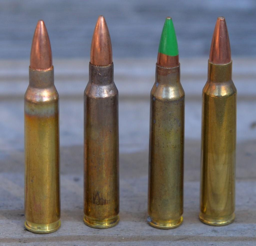 223 ammuniton UMC 55, M193, M855 and Black Hills 68
