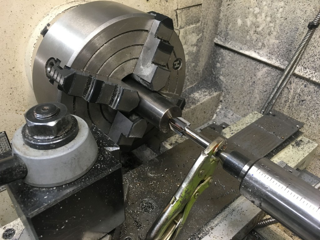 60 degree piloted counterbore in 310 barrel