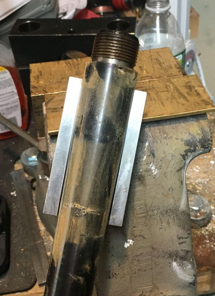 barrel vise insert on barrel