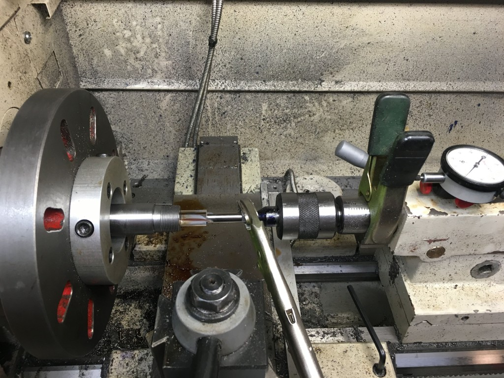 cutting counterbore for bolt nose M40A3