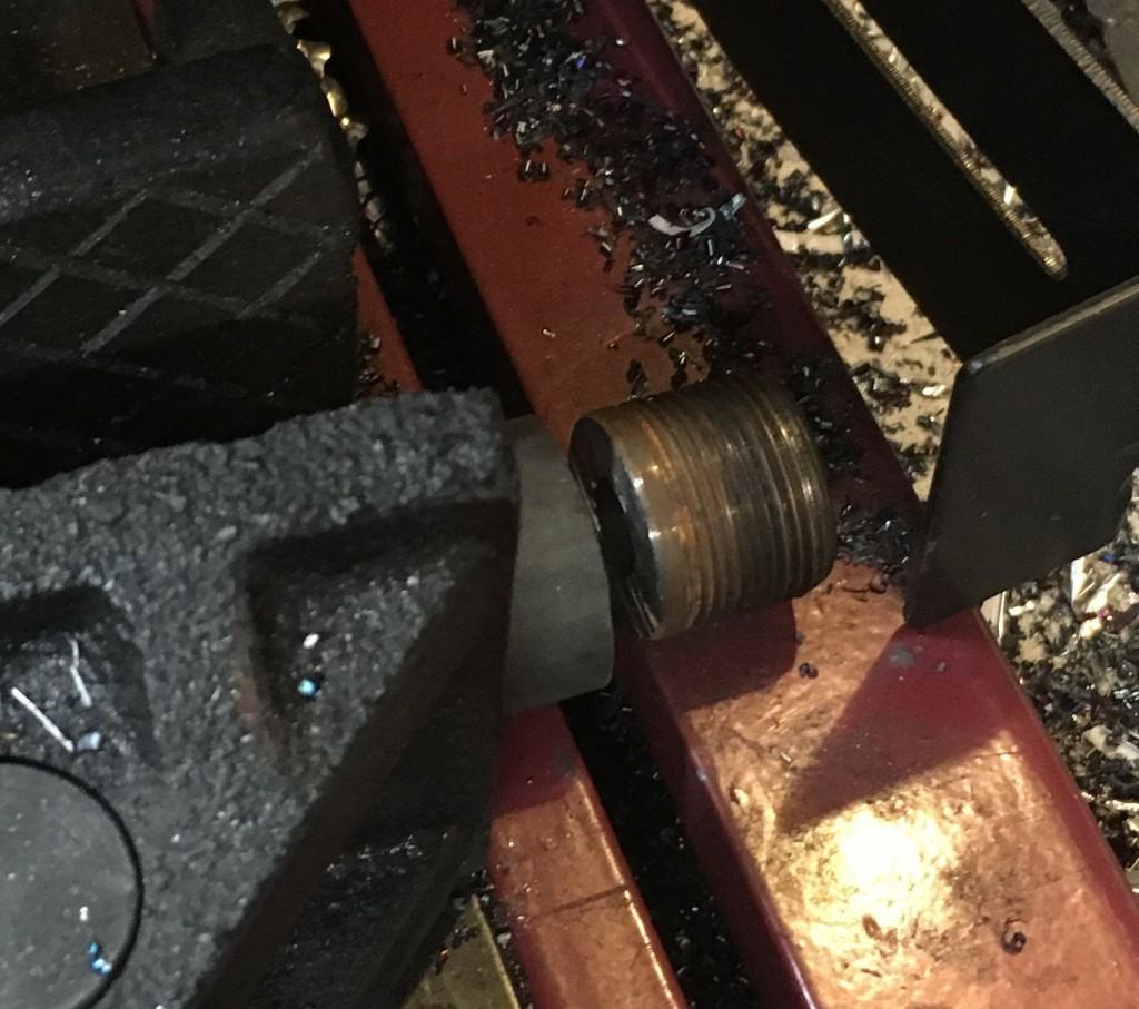 cutting off end of barrel