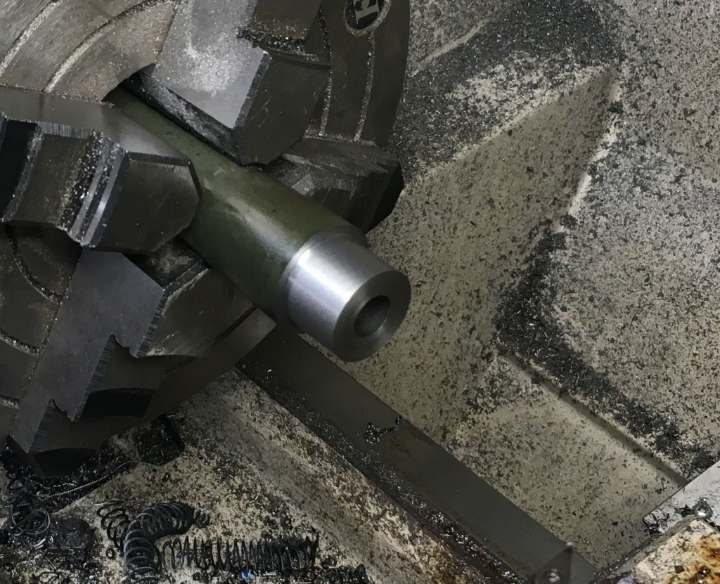 cutting tenon on barrel