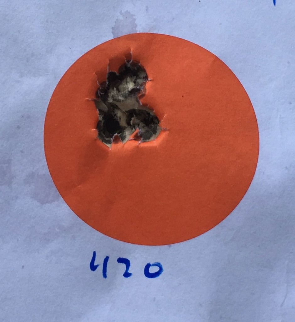 M40A3 42.0 4064 .441 in .421 MOA