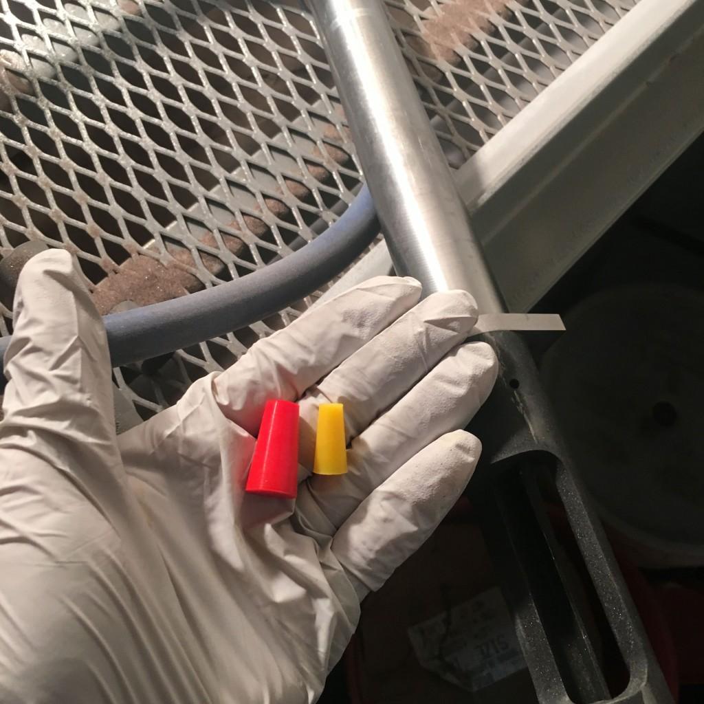 plug before blast