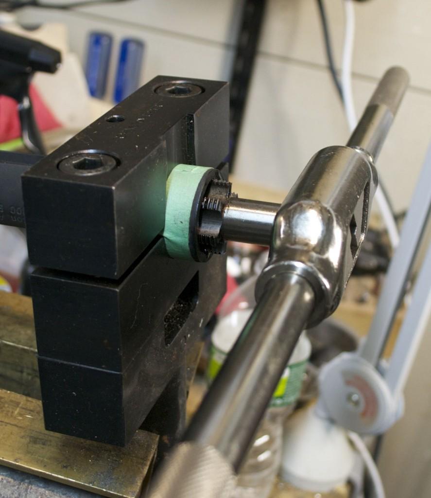 receiver tap Rem 7 300 BLK