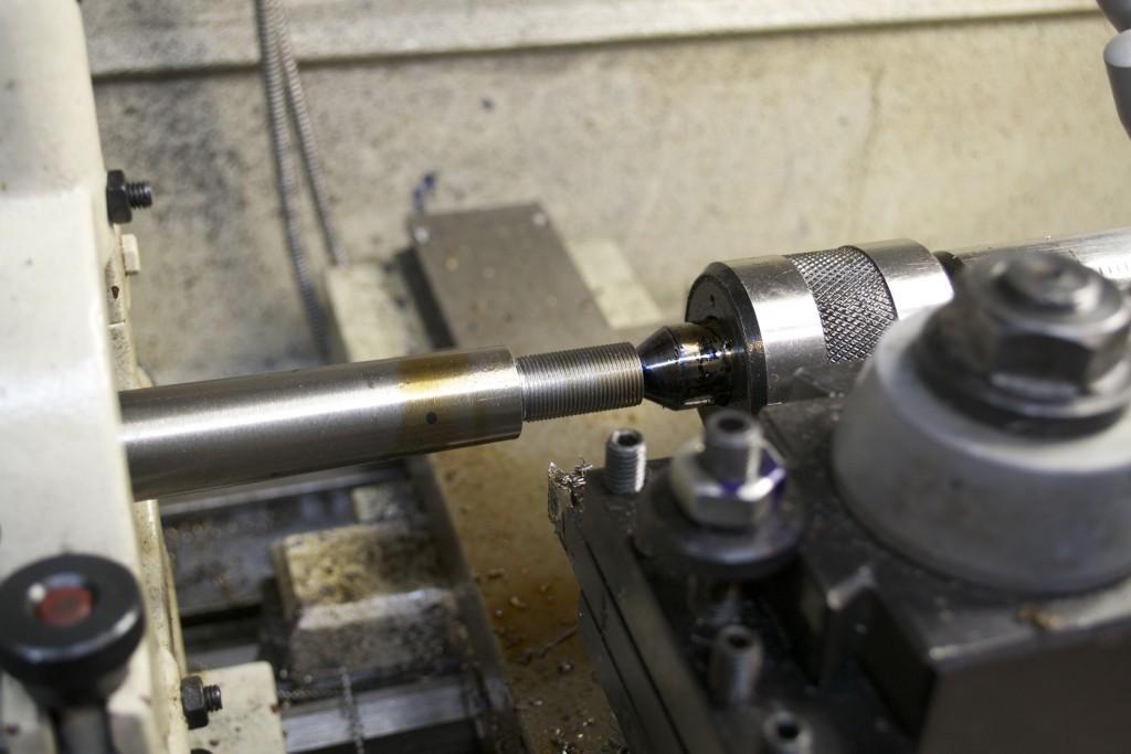 threading for brake