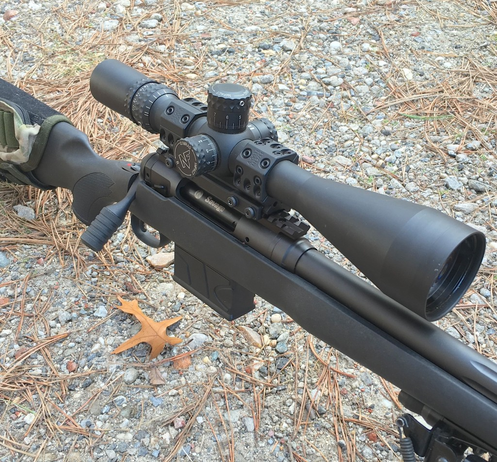 Savage 10 FCP-SR close