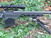 side view model seven pistol