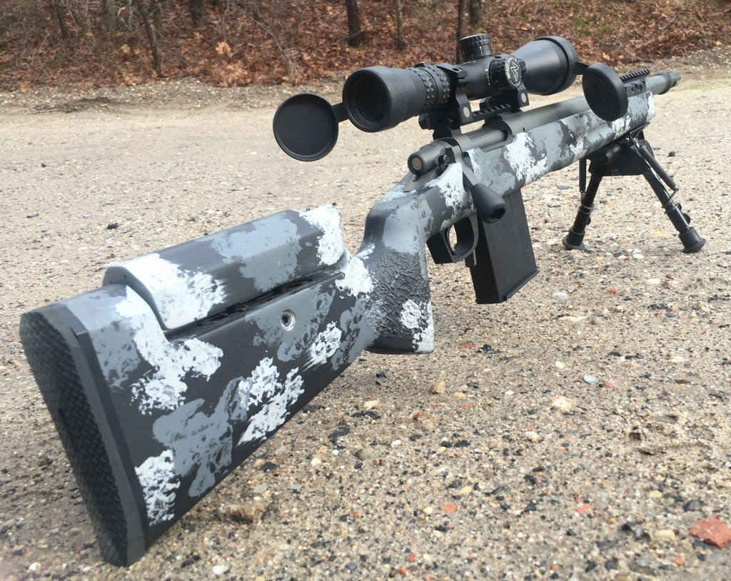 300 blk custom rifle away