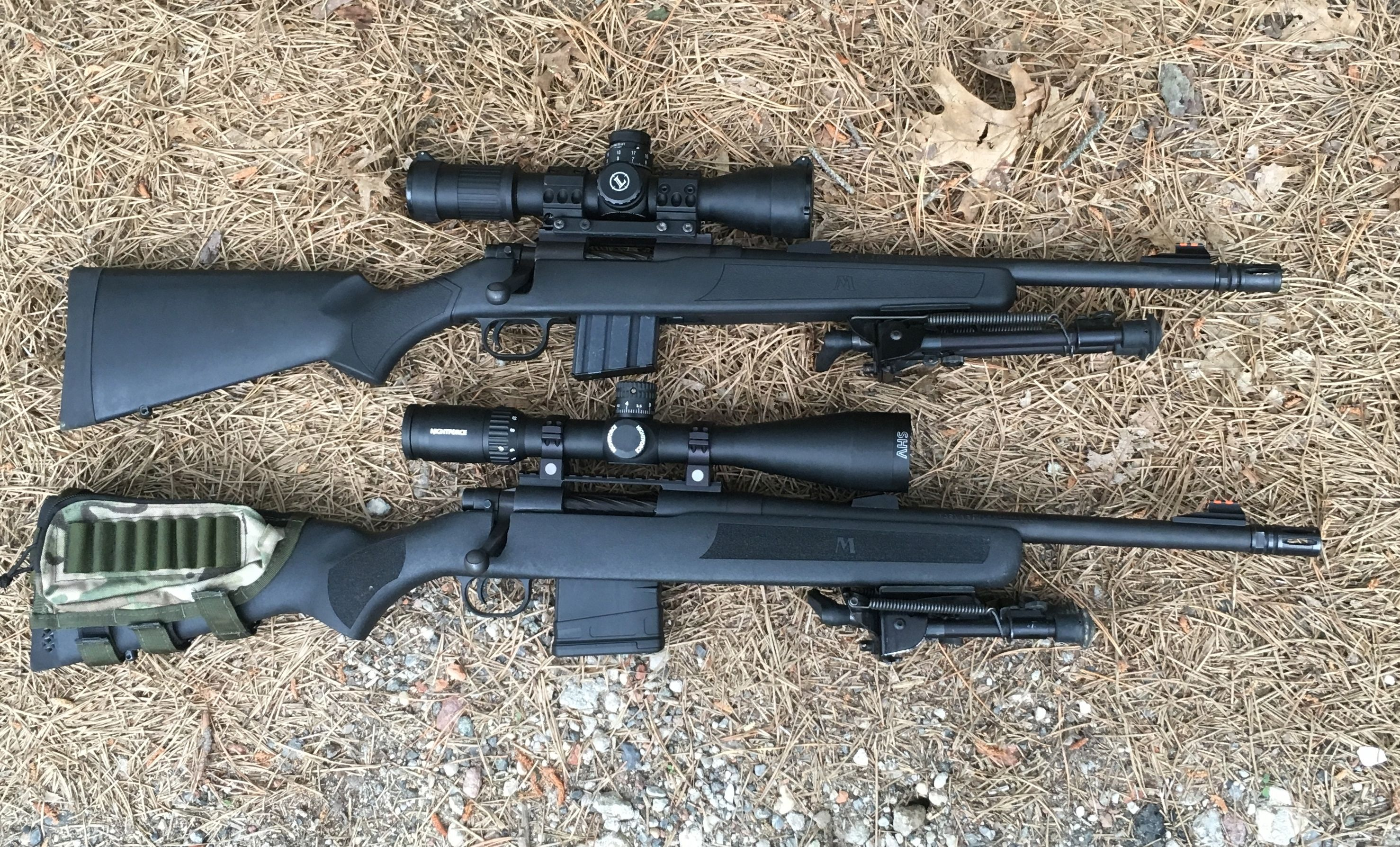 MOSSBERG 556 and 762 MVP side view top