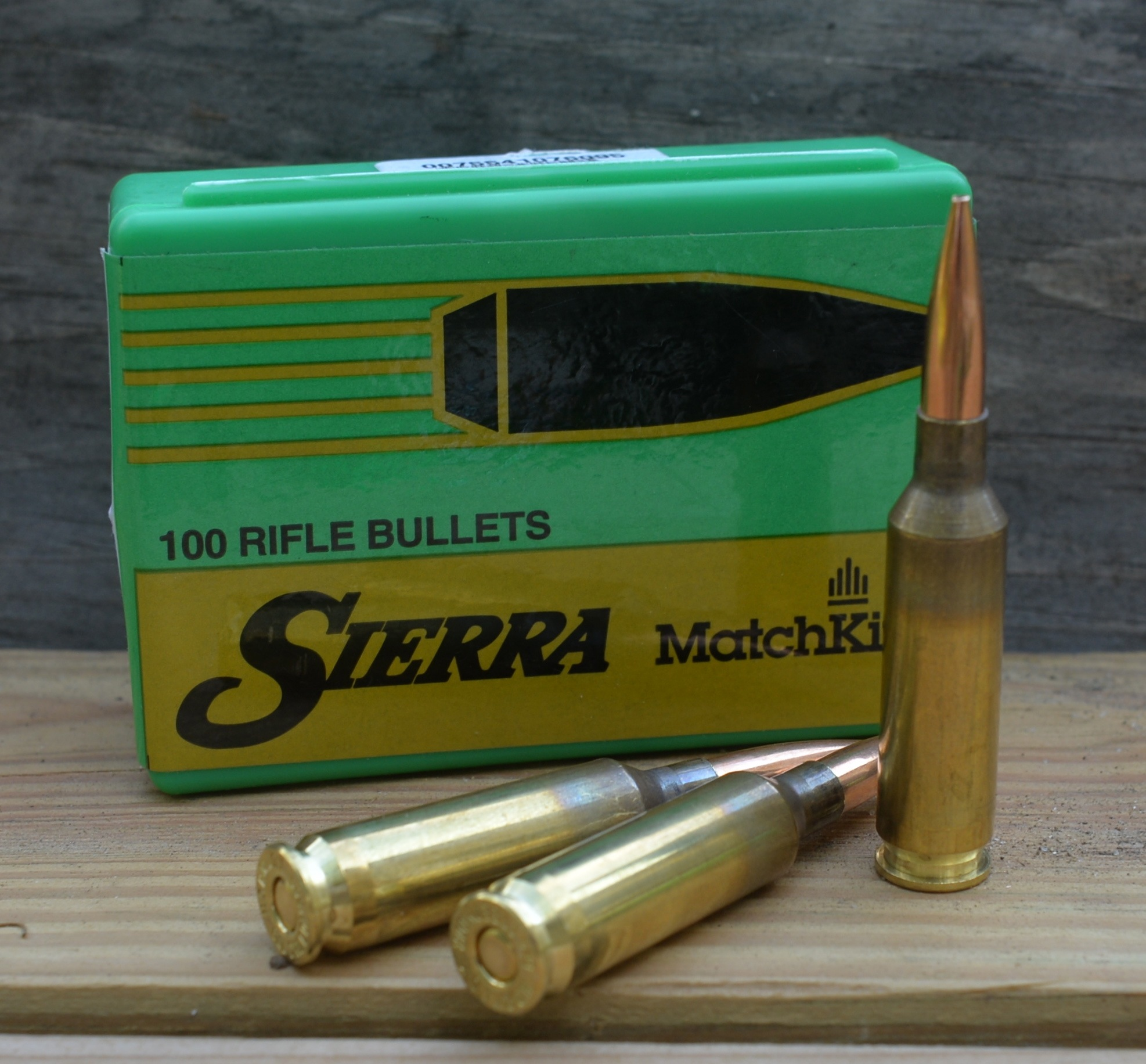 6 creed 107 smk bullets with box