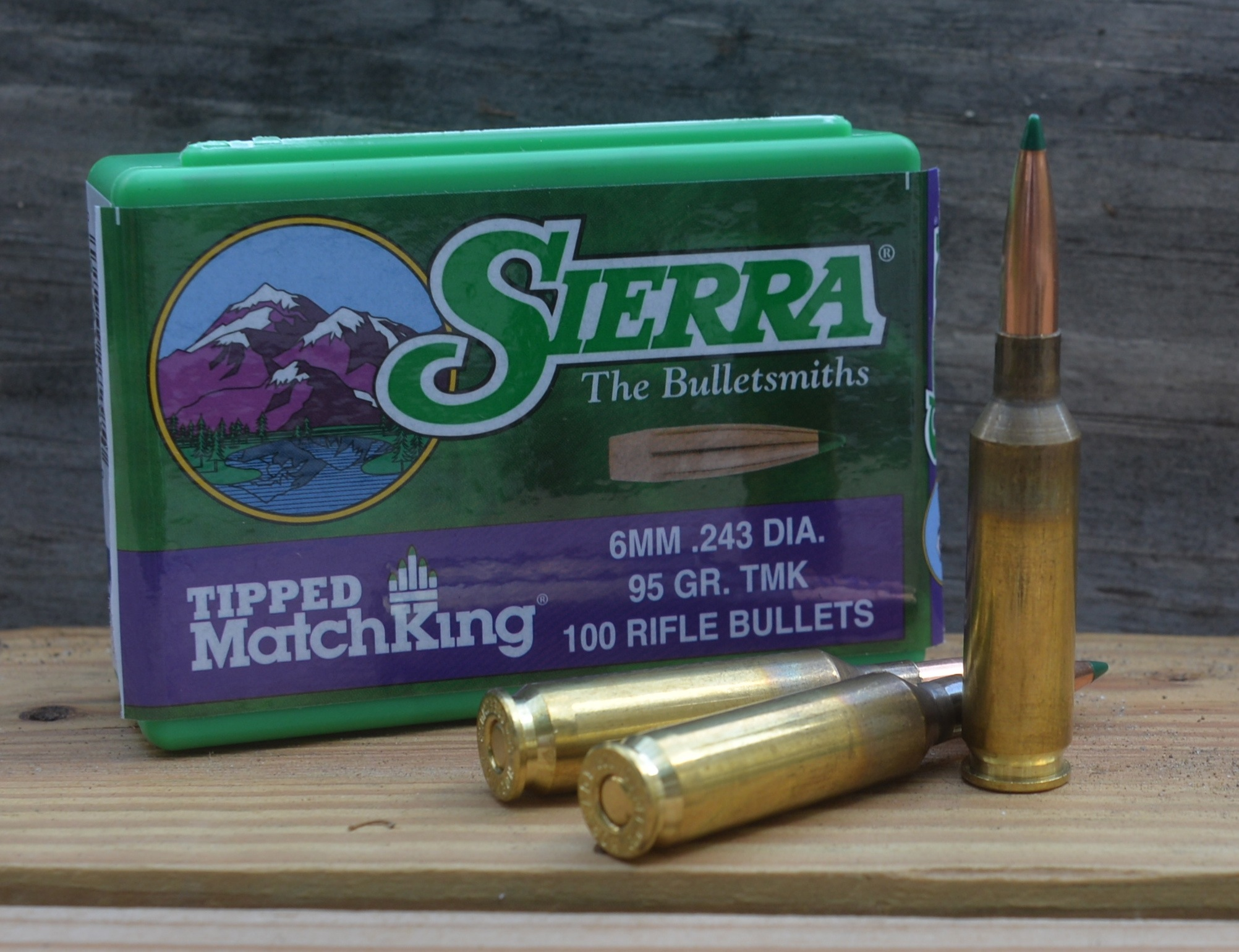 6 creed 95 TMK cartridges with box