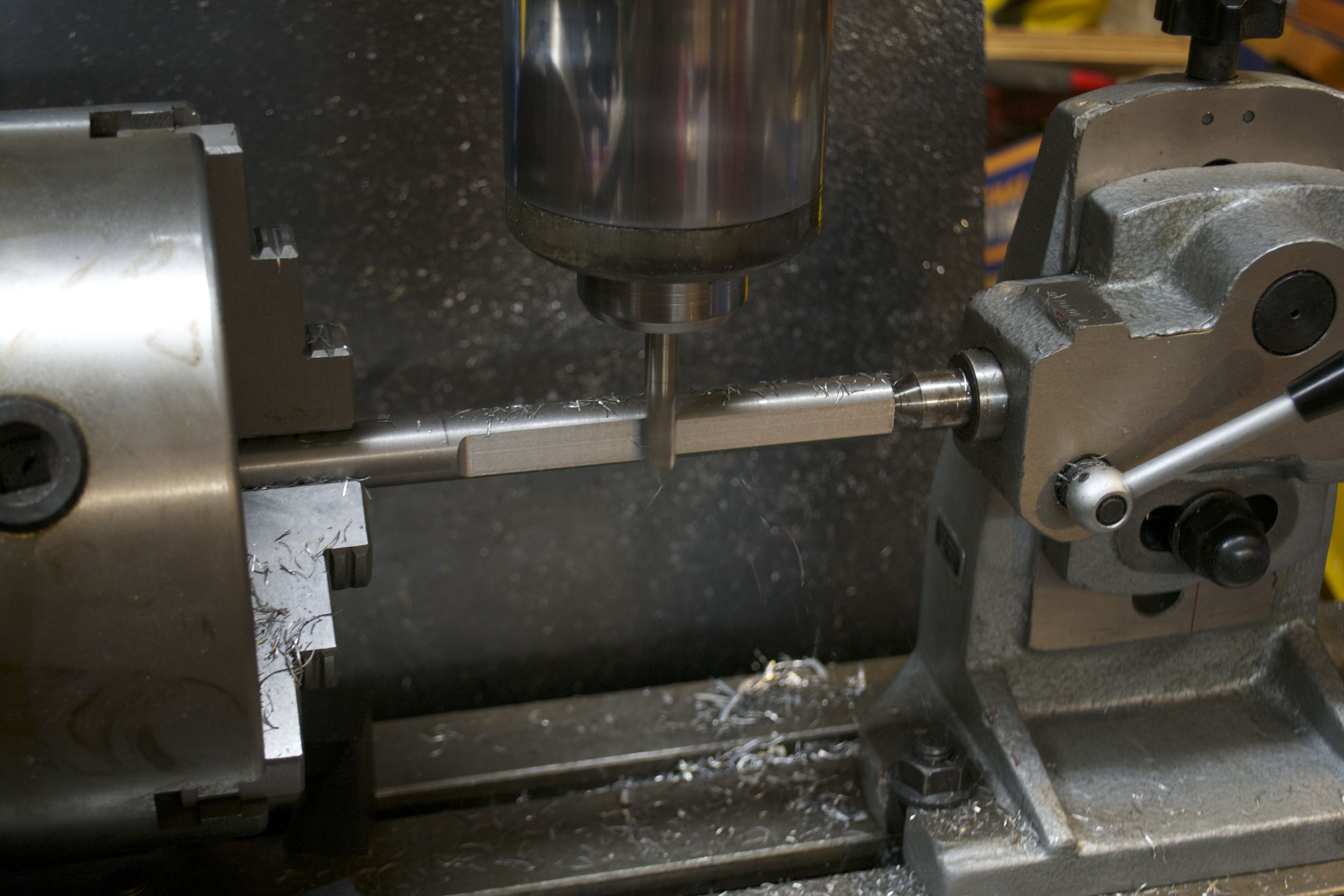 machine sides of fixture