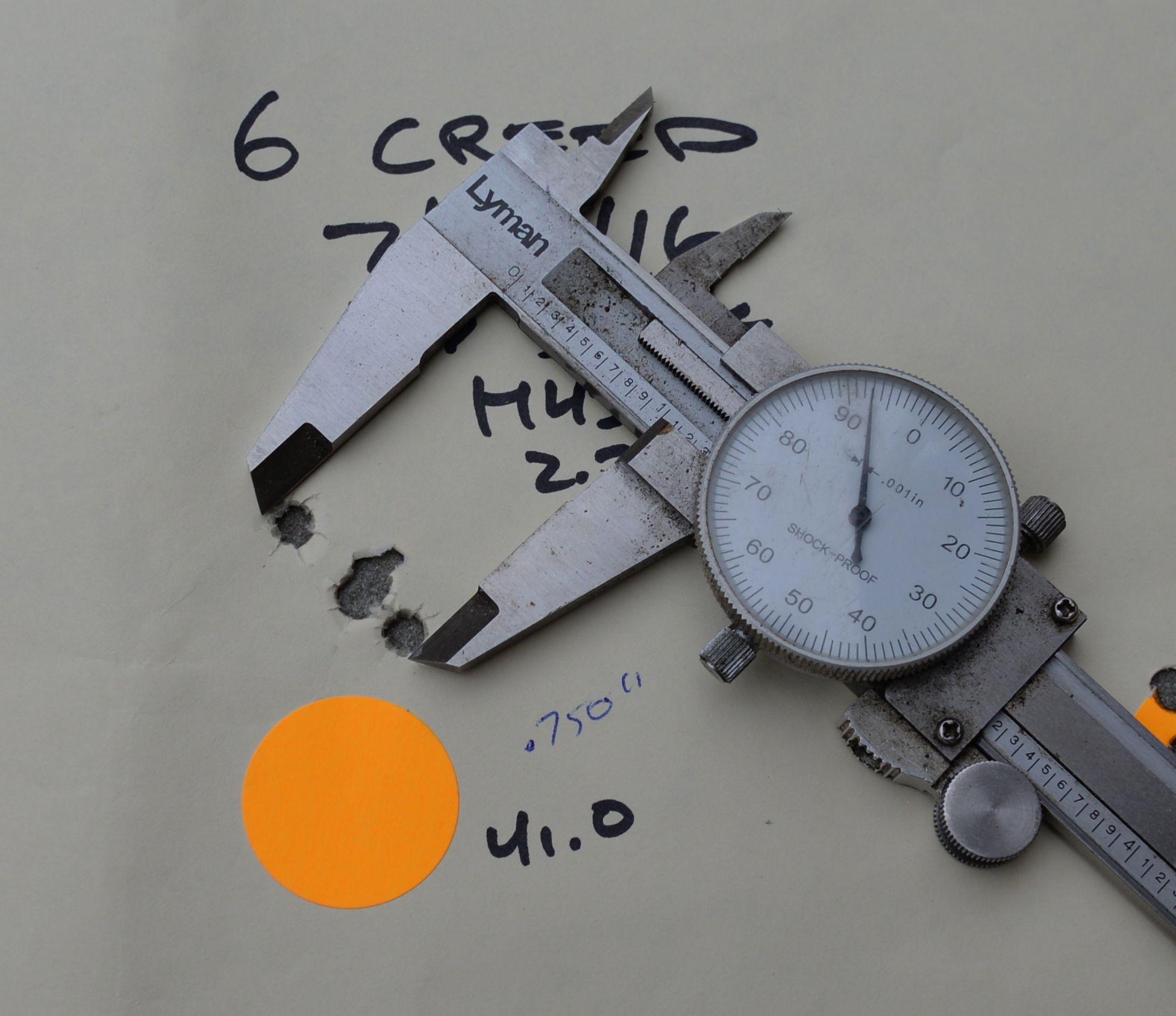 measuring group size sampel 2 dial